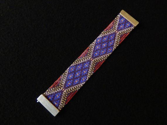 Bracelet perles Miyuki modèle Bollywood