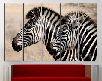 Zebra Wall Art Zebra Wall Decor Zebra Canvas Zebra Print Animal Wall Art  Animal Wall Decor Animal Canvas Animal Print Large Canvas Decor