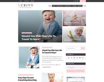"WordPress Theme ""SCRIVY-7"" - Shop, Portfolio"