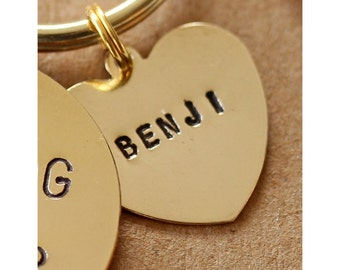 Name Heart - for if you need to add an extra name to your existing keyring