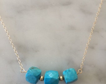 Turquoise Arden Necklace