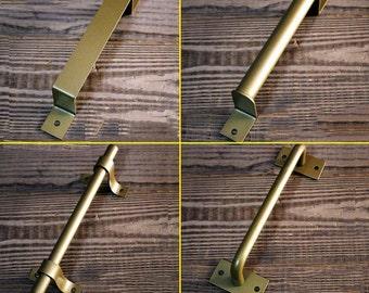 American Barn Door Pull Handle Sliding Door Sliding Door Wooden Door  Antique Old Iron Pipe Pull