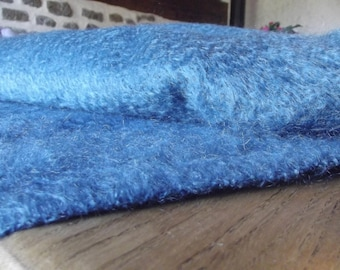 gorgeous fabric soft and warm mohair from our farm