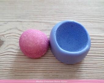Sweet Strawberry sugar mold