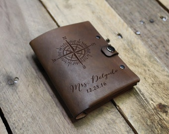Genuine Leather Passport Wallet Sleeve, Personalized Passport Holder, Custom Passport Cover, Engraved Passport Case --PASS-DB-Delgado