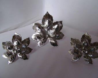 Vintage 1960s Sarah Coventry maple leaf set