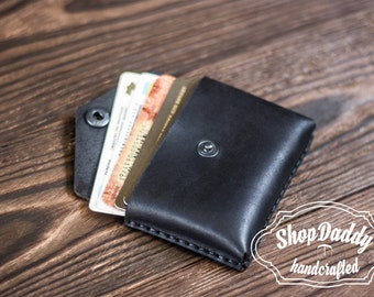 Business card sleeve etsy business card holder business card case leather card case mens wallet leather colourmoves