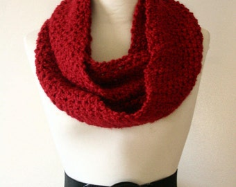The Signature Series Infinity Scarf (Mini) | Candy Apple