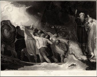 Poster, Many Sizes Available; The Tempest By William Shakespeare,