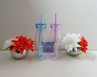 Personalised Milkshake Bottles - Available Now