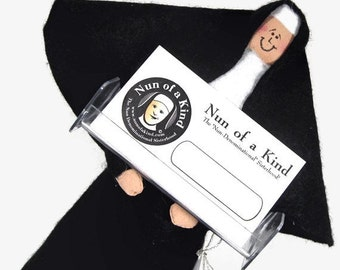 Funny Nun doll sister doll  Catholic gift business card holder