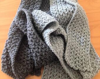 Bulky Crochet Scarf