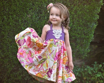 Baby Roundabout Dress and Tunic PDF Sewing Pattern, including sizes newborn - 4 years, Baby Pattern