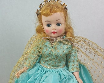 "Madame Alexander SLEEPING BEAUTY, 1959, Disney Exclusive, 10"" Cissette Body, Vintage Collectible Disneyana, Doll"