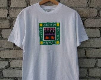 Sale !! Vintage United Colors Of Benetton Hawaii