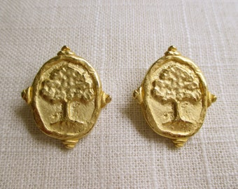 Artisan Tree Earrings
