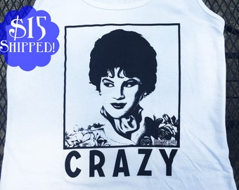 "New! Patsy ""Crazy"" Tank Top - Ladies Size"