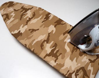 Ironing Board Cover TABLE TOP - brown cammoflage army