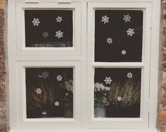 Snoflake Decor ~ Snowflake Window Stickers ~ Snowflake Window Decals ~ Christmas Decor ~ Snowflake Wall Stickers ~ Christams Wall Stickers