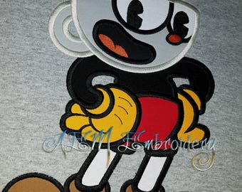 Cuphead Game Shirt Youth Large READY to Ship