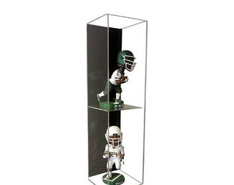 Acrylic Wall Mounting Double Bobblehead Display Case by GameDay Display