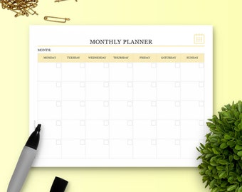The Monthly Planner - Single Insert - The Ultimate Planner