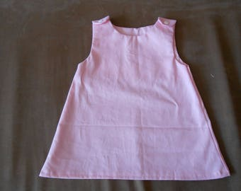 Baby Pink a line dress size 1 year