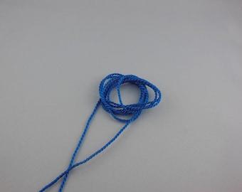 Nautical color rayon twisted cord