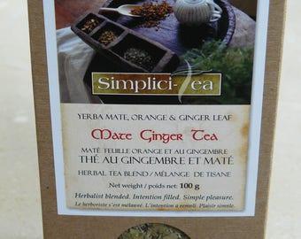 Mate Ginger Tea