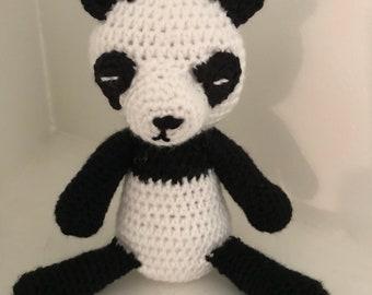 Crocheted Panda Doll