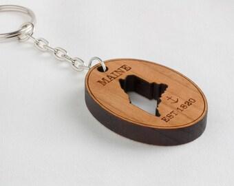 Maine Keychain
