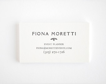 Typewriter business cards editor style letterpress black elegant letterpress business cards personalized vintage style rialto reheart Image collections