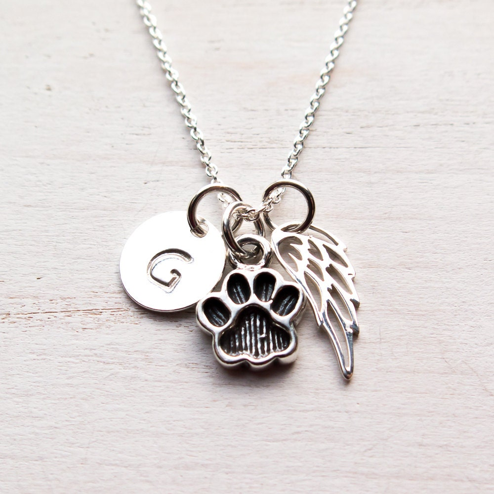 necklace com memorial pendant holder ashes plated dog pet cremation amazon jewelry gold charmsstory cat print urn dp paw