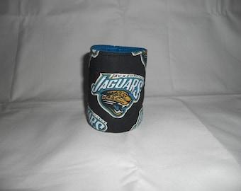 Jacksonville Jaguars Soda or Beer Can Cooler