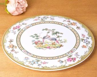 vintage bone china cake plate oriental pattern by Spode England  sc 1 st  Etsy & Flat cake plate   Etsy