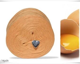 Solid Yarn Merino Egg Yellow 1'000m