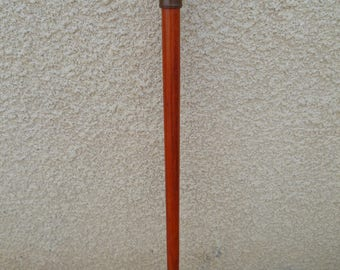 walking stick made of padauk and Brazilian ipe wood