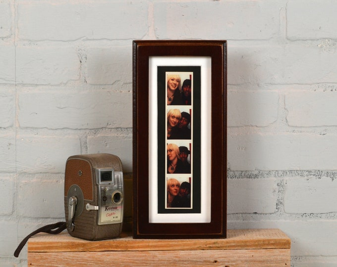 4x10 Picture Frame for Photo Booth Strip in 1x1 Outside Cove Style and Color OF YOUR CHOICE - Wedding Photo Booth Frame- holds 2x8 Photo