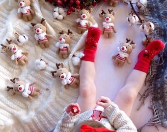 Amigurumi Patterns For Sale : Deer family crochet amigurumi pattern photo tutorial