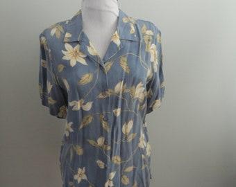 1970's Frilli Floral Shirt