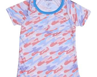 Squash Short Sleeve Youth Girls T-Shirt