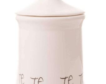 Kitchen Storage Canisters Tea Coffee Sugar WORDS range