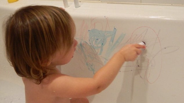 Bath Crayons for Toddlers / Best Bath Toys for Toddlers / Bath Time ...