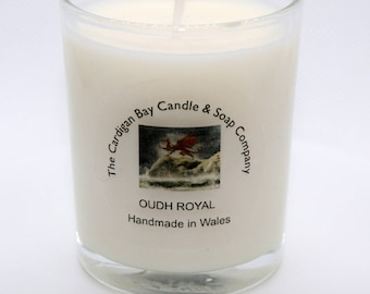 Luxury Soy Wax Votive Candle Oudh Royal