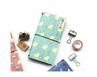 Notebook/The wind is rising/11cmx21cm/illustration/pocket notebook