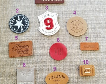 Different style and sizes of patches