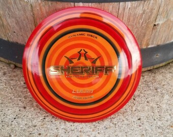 Spin Dyed Dynamic Discs Lucid Junior Sheriff Mini Marker Disc Golf