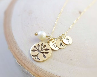 Family Tree Necklace, personalized Mothers day gift, mommy gift, mom jewelry, otis B,grandmother necklace, tree of life, mothers day, otis b