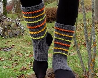 Yoga Socks ,  Knit Dance Socks,Toe-less Socks,  Knitted Spats,  Flip Flop Socks, Striped Socks, Yoga Wear, Pedicure sock , Christmas Gift