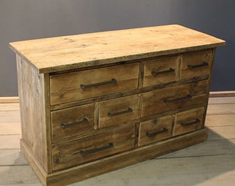 dark drawer product of america furniture garden walnut chest home hilande rustic drawers